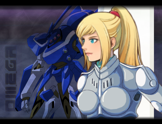 Лейа в броне костюме для тренировки на меха, лучшая подруга Элис, и к тому же профессиональный Боевой Маг