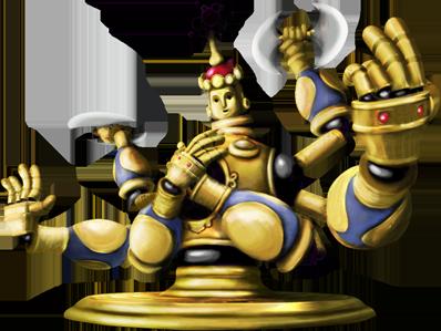 goldstatue