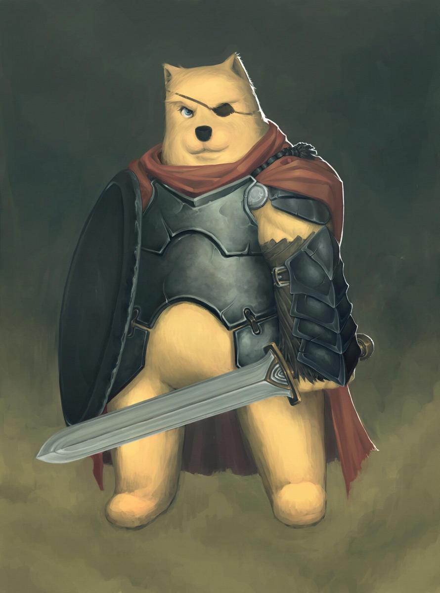 bear fighter by otoyo d6fhy4k