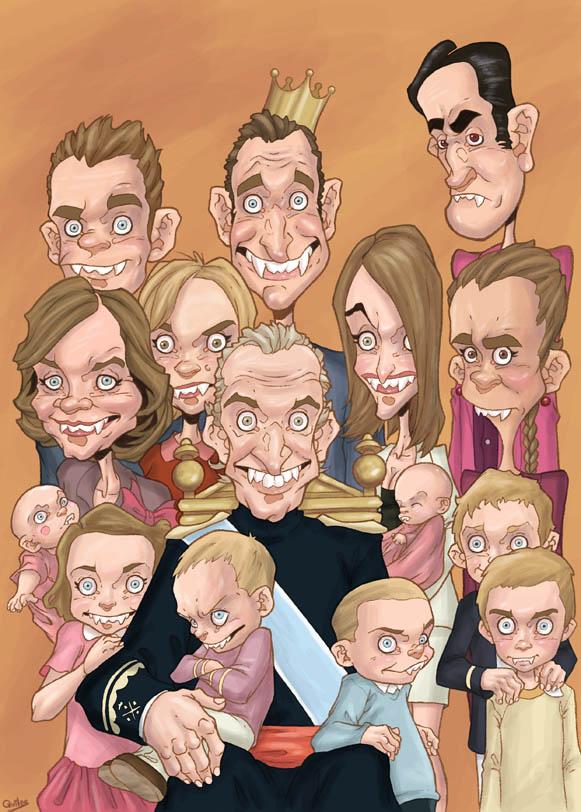 the bloodsucker family by gunsmithcat d4sqbn0