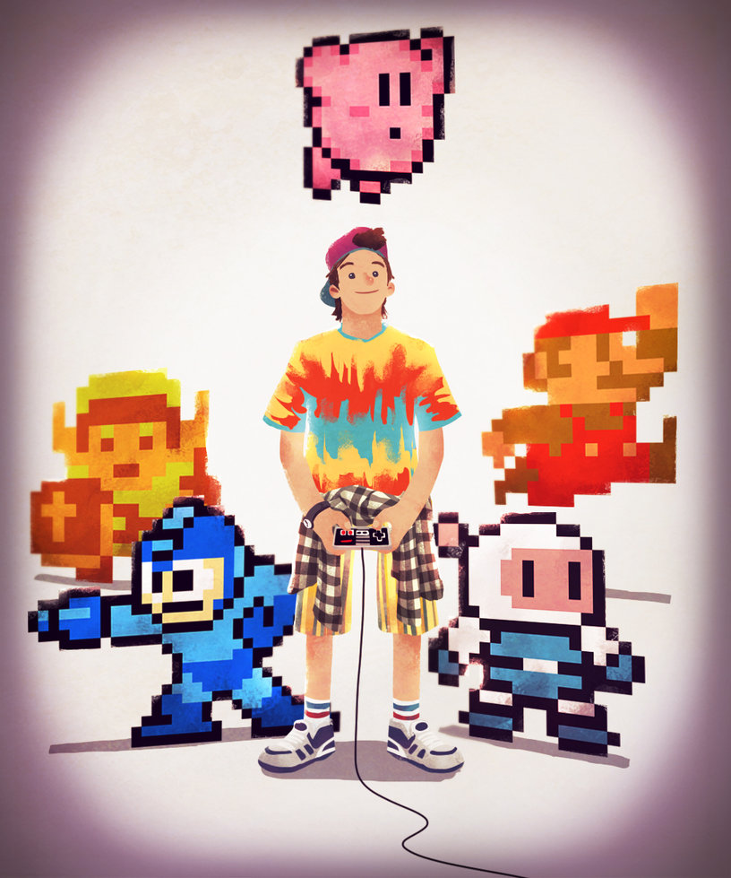 8bit gamer boy by andry shango d5uycp8