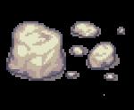 white rocks
